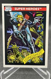 LONGSHOT / 1990 Marvel Universe Series 1 (Impel) BASE Trading Card #45