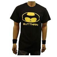 Men Funny Graphic T-Shirt BUTTMAN Casual Fashion Humor Urban  Hipster Tee