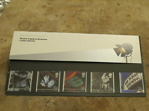 1996 Royal Mail GB Presentation Pack-100 years of Cinema / Pictures / The Flicks