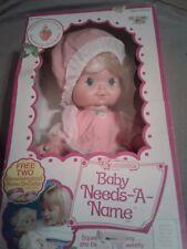 Strawberry shortcake large Baby needs a name doll
