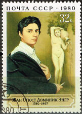 Russia Famous French Painter Jean-Auguste-Dominique Ingres stamp 1980 MNH