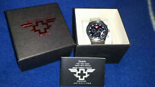 Orologio GMT Uomo SWISS COMBAT FORCES Men's Military Watch Movimento Swiss Made