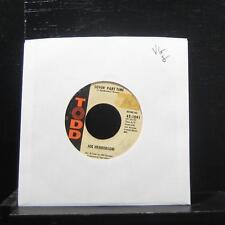 "Joe Henderson - Blues For A Four String Guitar 7"" 45-1091 VG Vinyl 45 Todd"