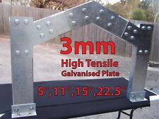 Shed Brackets 6inch C Section Purlin-garage-steel Plate Industrial Apex Haunch