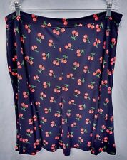 TALBOTS NWT Cherry Print Skirt Size 20W Plus $99