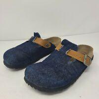BIRKENSTOCK Betula Denim Clogs ~Slides~ Blue Jean Look ~ Shoes Size 38