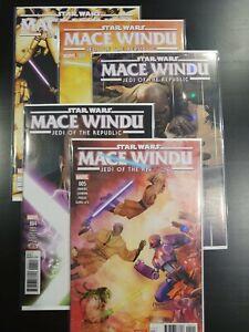 Marvel Comics STAR WARS: JEDI OF THE REPUBLIC - MACE WINDU (2017)    FULL SERIES