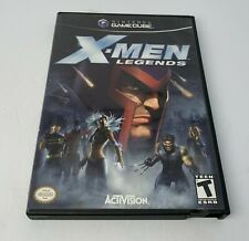 X-Men Legends (Nintendo GameCube, 2004) Tested Complete