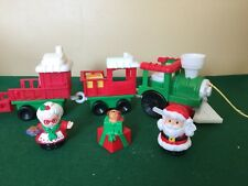 Fisher Price Little People Christmas Train with Santa and Mrs. Claus