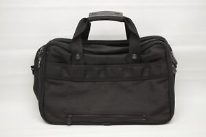 Briggs & Riley Travelware Carryon Overnight Bag Black Balistic Nylon NO STRAP