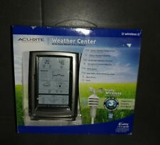 New AcuRite 00639W 3-in-1 Digital Wireless Wind, WeatherCenter W/Thermometer NEW