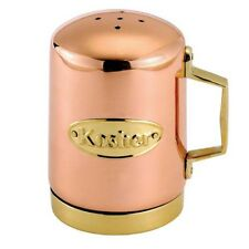 4 In Copper Plated Stainless Steel Kosher Salt Shaker Individual Kitchen Tools