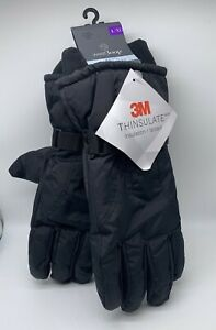 3M Lg XL Thinsulate Water Resistant Fleece Lined Winter Snow Ski Gloves