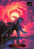 BLACKOUT / 1994 Marvel Masterpieces (Fleer) BASE Trading Card #10