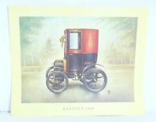 Renault 1899 Oldtimer Stampa Artistica Quadro Poster 37,5 X 30,5 CM