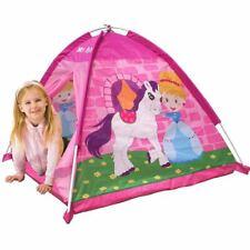 Kinderzelt Spielzelt Pony Iglu 112x94x112cm Mädchen rosa Für Innen und Außen Neu