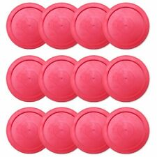 "2.5"" Mini and Tabletop Air Hockey Pucks, 12-pack Value Bundle"