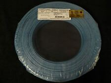 22 GAUGE 2 CONDUCTOR 100FT BLUE ALARM WIRE STRANDED COPPER HOME SECURITY CABLE