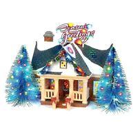 Brite Lites Holiday House Dept 56 Snow Village 6003131 Christmas Lane house A