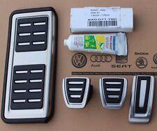 Audi A1 ab 2015 original S-Line Pedalset + Kleber Pedale Fußstütze Pedalkappen