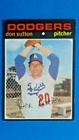 1971 Topps Don Sutton Los Angeles Dodgers HOF Baseball Card # 361