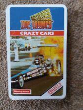 Top Trumps Crazy Cars Retro Card Game Superb