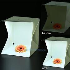 """Light Room Mini Photo Studio 15"""" Photography Lighting Tent Kit Backdrop Cube Box"""