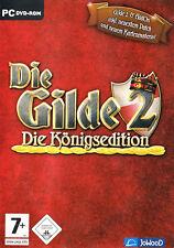 Die Gilde 2 Königsedition von JoWooD für den PC (CD in der Box)