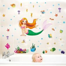 Removable Vinyl Wall Decor Little Mermaid room Sticker Home DIY Home Decor