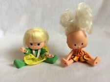 1979 American Greetings Molly Orange and Lanard Lucy Lemon Vintage Dolls