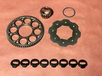 04-05 Honda CRF450R CRF 450 Clutch Basket Main Drive Primary Gear Set Assembly