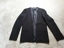 Calvin Klein Womans Blazer, NEW WITH TAGS, size 6/42 black