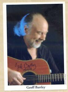 Geoff Bartley (USA) - original signierte Autogrammkarte 14x22cm