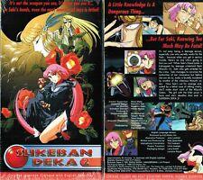 Sukeban Deka Vol 2 Anime VHS Video Tape New English Subbed
