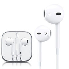 A pple Ear pods Earphones work iPhone 6S 6 5 5S 4S with Remote & Mic OEM