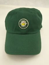 New listing Augusta National 2007 The Masters Golf baseball Hat GREEN NWT Adjustable