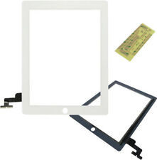 iPAD 2 WHITE TOUCH SCREEN GLASS DIGITIZER - REPLACEMENT DIGITISER