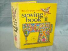 Vintage: The Complete Family Sewing Book: 1972 Hardcover Ring Binder, Illus