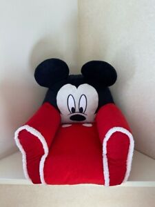 Disney Junior Mickey Mouse Kids and Toddlers Plush Sofa Figural Bean Bag Chair
