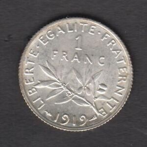 F.217/25 1 Franc semeuse 1919