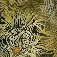 TIMELESS Treasures Tonga b9939 EARTH BROWN Batik 100% Cotone Fat Quarter