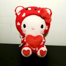 Hello Kitty Plush In Red Footie St. Valentine Pajamas. Red Heart. 2012.