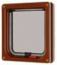 Cat Mate Lockable Cat Flap For Upvc / Timber Door - BROWN (304B)