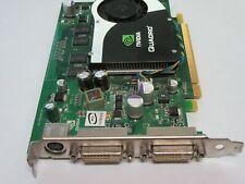 Dell RN034 NVIDIA Quadro FX1700 PCIe 512MB Video Graphics Card Dual DVI/S-Video