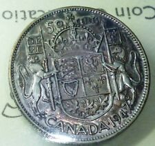 1947 CANADA 50  CENTS - MAPLE LEAF