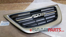 NEW Saab 9-3 Griffin 2012 Style Upper Center Grille 2008-2011 Genuine 12824618