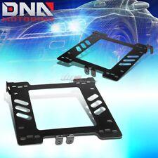 X2 BUCKET RACING SEAT MOUNT BRACKETS ADAPTER FOR 99-05 VW GOLF/JETTA/GTI/BEETLE