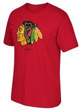 NHL Chicago Blackhawks Reebok Primary Logo Red T-shirt, X-Large