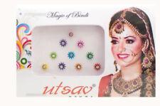 Bindi multicolore Bollywood tikka dot tika gioielli della pelle E2-4 816