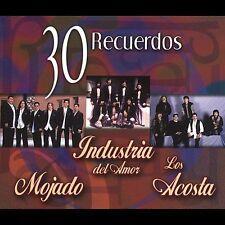 Mojado,Industria del Amor,Los Acosta Box set 3CD New Nuevo Sealed